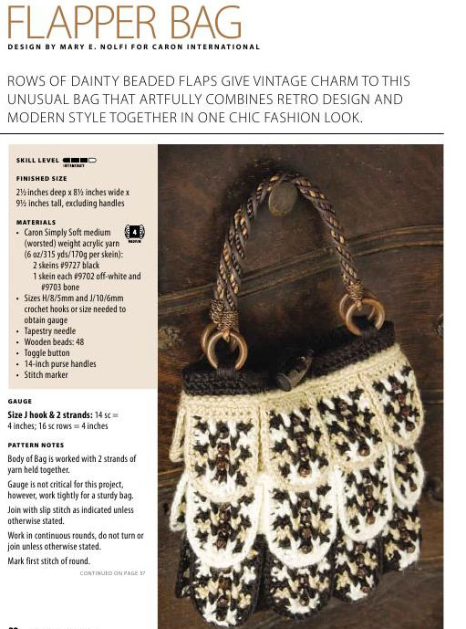 Flapper-Bag-Crochet-Pattern