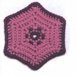 Hexagonal Crochet Motif Pattern