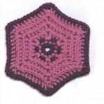 Hexagonal Crochet Motif Pattern