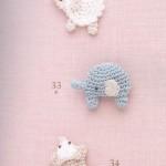 Little Animals Crochet Motifs