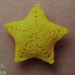 Stuffed Crochet Star Pattern