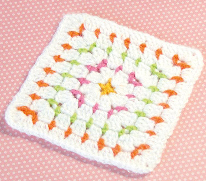 Block Stitch Granny Crochet Square Crochet Kingdom