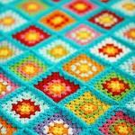 bright granny square inspiration