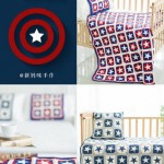 Captain America Crochet Blanket Pattern
