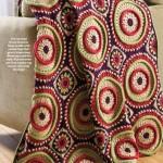 Large Circular Motif Afghan Crochet Pattern