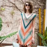 Crochet V Dress