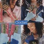 Three Gloves Patterns to Crochet