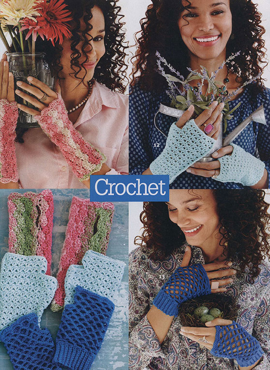 Three Gloves Patterns to Crochet