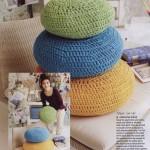 Crochet Poufs Pattern