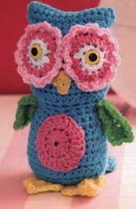 cute owl toy to crochet