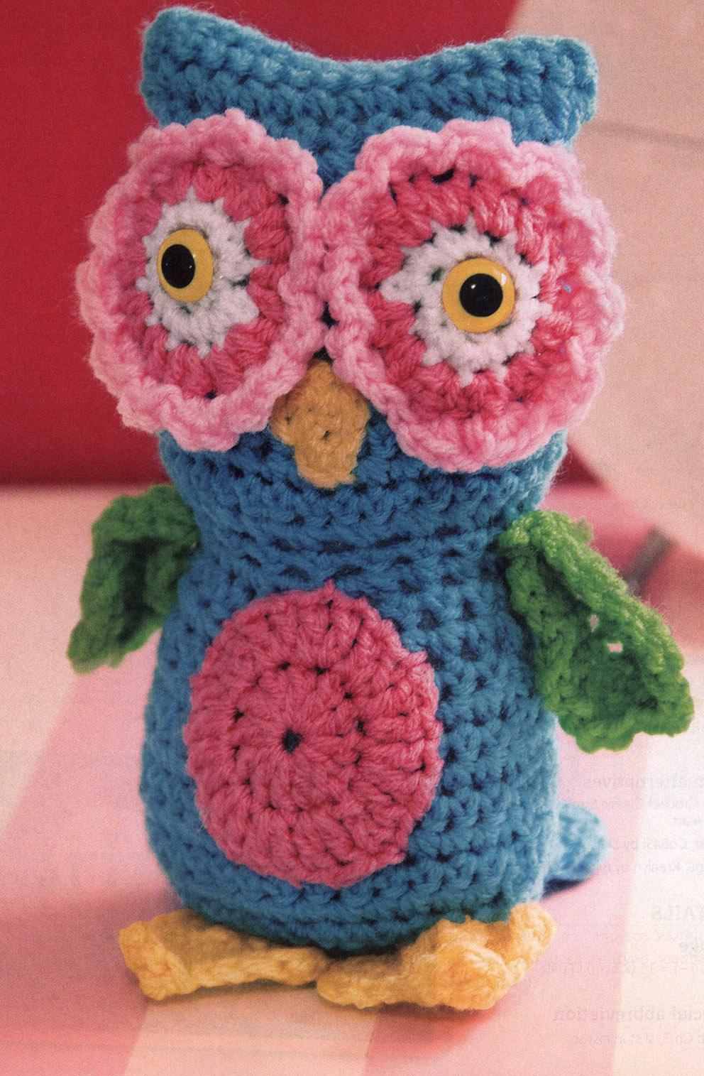 Cute Crochet Owl Pattern ⋆ Crochet Kingdom