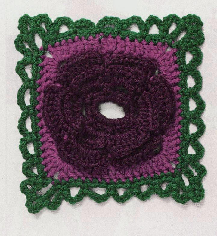 Fancy Crochet Square Pattern Crochet Kingdom