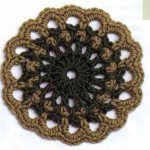 Ornate Circle Crochet Motif Pattern