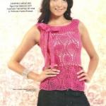 Sleeveless Pineapple Top to Crochet
