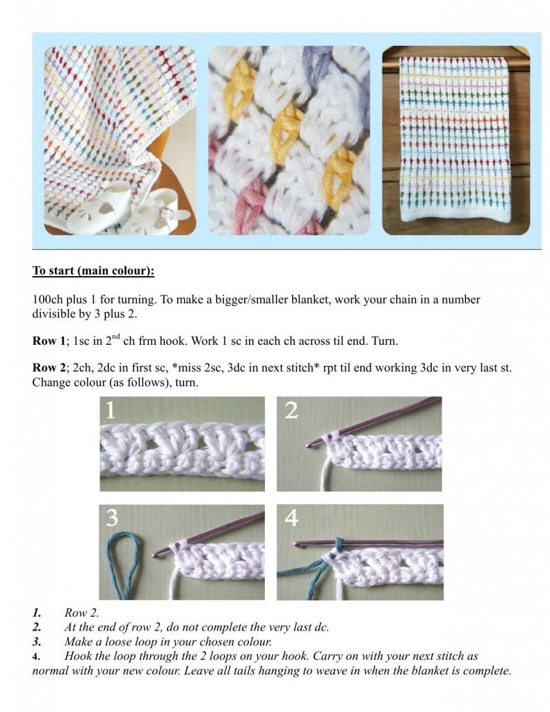 pretty crochet blanket 1