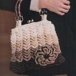 Crocodile Stitch Vintage Styled Handbag Crochet Pattern