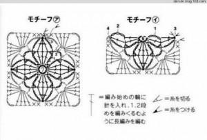 wheels-crochet-scarf-free-pattern-1