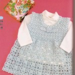 Sweet crochet baby dress