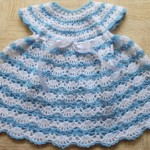 Baby's Shelled Crochet Dress Pattern