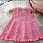 Cute baby dress crochet pattern
