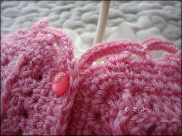 Cute baby dress crochet pattern 3
