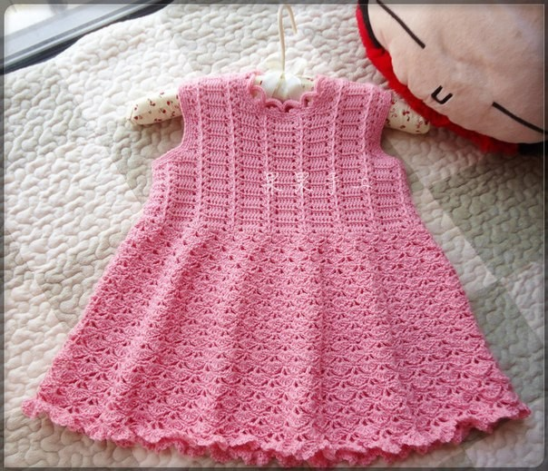 Cute baby dress crochet pattern ? Crochet Kingdom