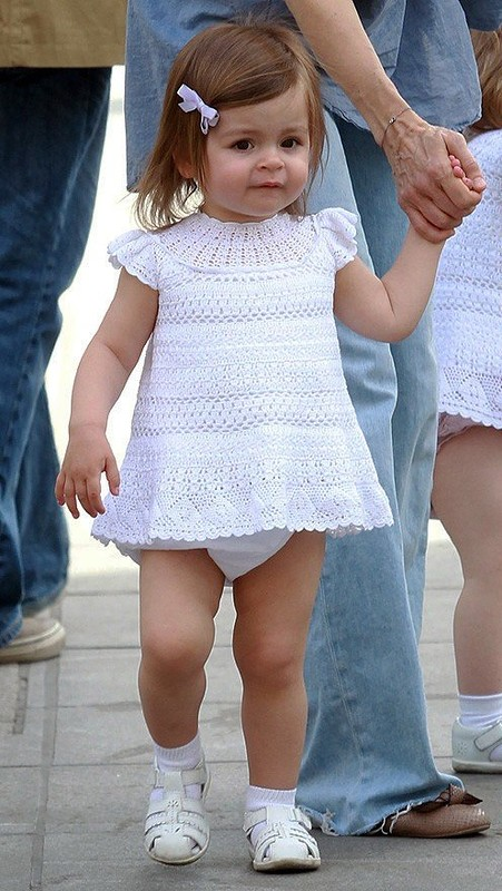 Delicate Crochet Baby Dress Pattern Free