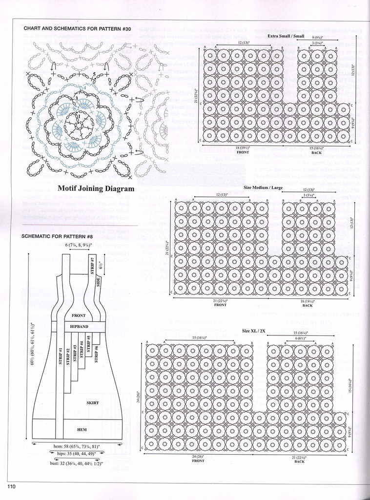 Elegant Long Columns Dress Crochet 3
