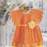 Flower Baby - Crochet Baby Dress Pattern