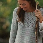 Frosted Window Pane Cable Crochet Sweater Pattern