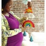 Happy Baby Mobile Crochet Pattern