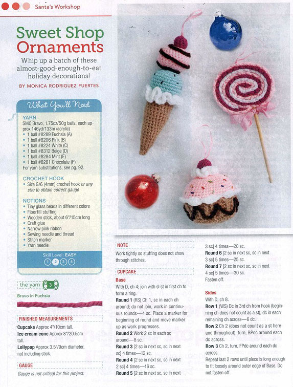 Ice-Cream-and-Lolliposo-crochet-ornaments-1