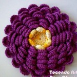 Multi Petaled Flower to Crochet