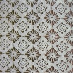 Openwork Veil Lace Crochet Bedspread