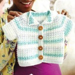 Spring Baby Jacket Cardi Crochet Cardigan