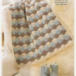 Sunburst Stroller Baby Crochet Blanket Pattern