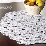 Triangle Doily Crochet Pattern