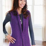 Tunic-Cardigan Crochet Pattern