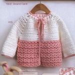 Yoke Toddler Crochet Cardigan Pattern