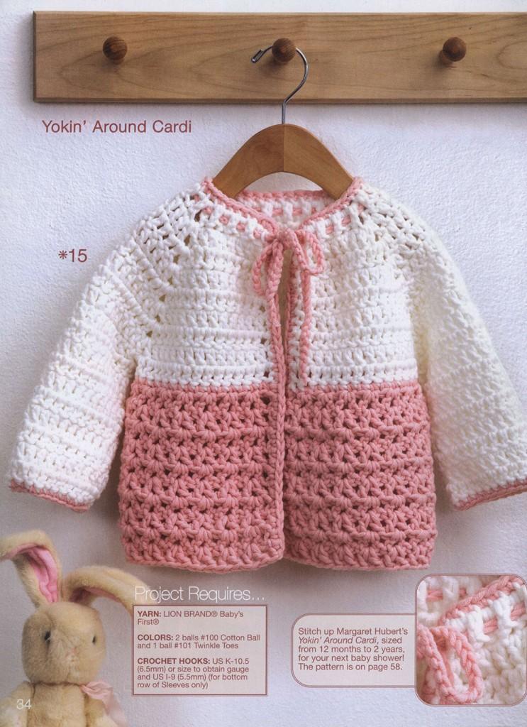 Yoke Toddler Crochet Cardigan Pattern ? Crochet Kingdom