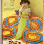 Crochet butterfly blankie pattern