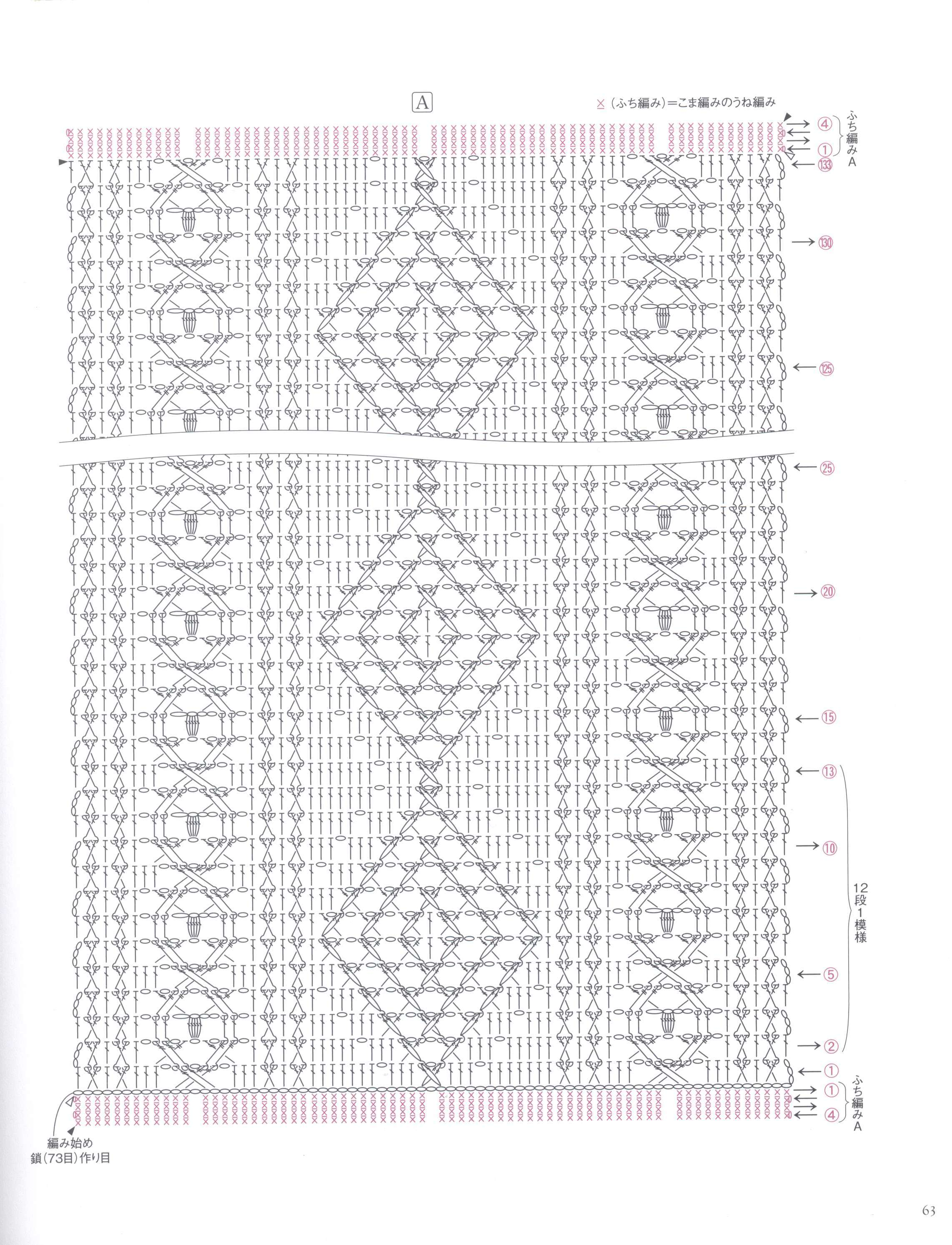 Crochet Diamond Cable Scarf Pattern Crochet Kingdom