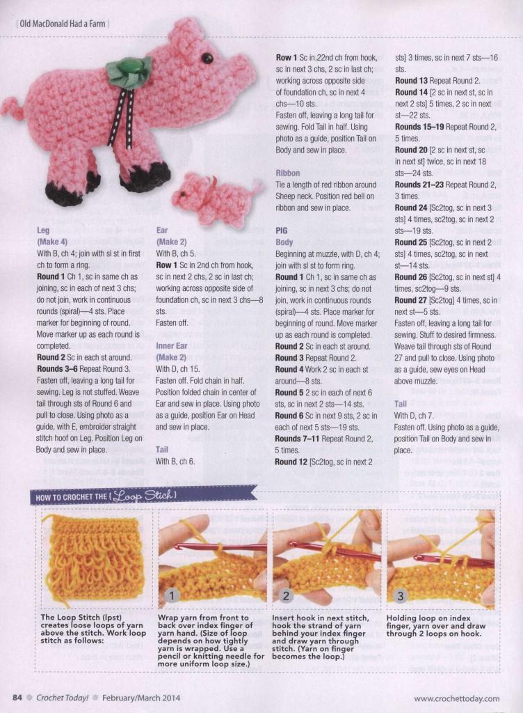 Crochet farm animals amigurumi ? Crochet Kingdom