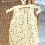 Cute baby crochet dress