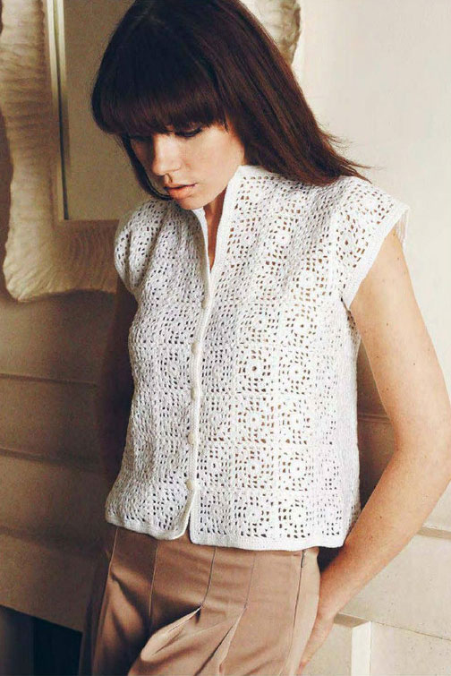 Crochet Granny Square Vest Pattern : granny square crochet cardigan free patterns Archives ...