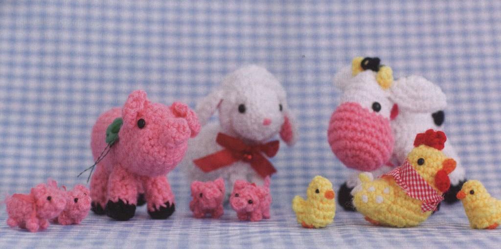 Free Crochet Pattern Farm Animals Pakbit For
