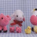 Crochet farm animals amigurumi