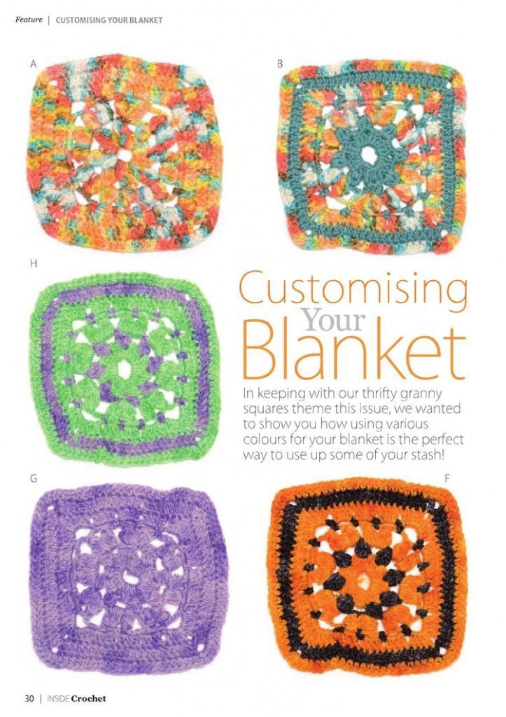 flower square crochet blanket pattern 4
