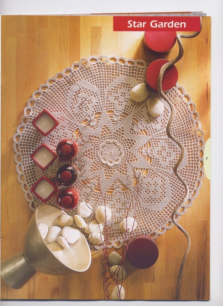 Round Crochet Doily Pattern ⋆ Crochet Kingdom