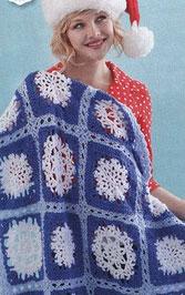 North pole crochet blanket